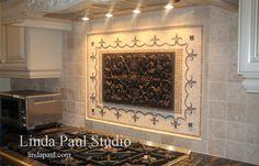 decorative tiles for kitchen backsplash | Kitchen Backsplashes Tile Ideas - Backsplash Designs Pictures
