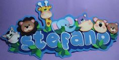 :: RT decorations and more . Foam Crafts, Easy Crafts, Crafts For Kids, Craft Projects, Projects To Try, Creative Banners, Baby Shawer, Name Plaques, Cute Pins