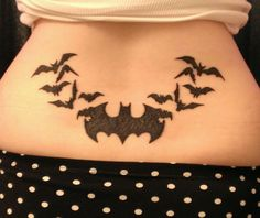 Lottie's Batman Tattoo <3