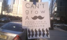 Ellen Chance posted Can't Grow a Mustache? Please take a complimentary mustache. to her -funny signs- postboard via the Juxtapost bookmarklet. Mustache Cat, Growing A Mustache, Encouragement, Just For You, Take That, All That Matters, Funny Pins, Funny Stuff, Random Stuff