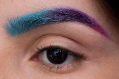 Tutorial: Sobrancelha degradê colorida - Maquiando Sem Crueldade | Beleza cruelty-free e vegan