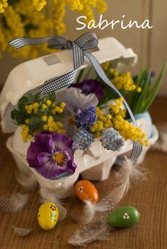 連載・身近なもので花を飾ろう イースター編の画像 | サブリナ~花と写真のある暮らし~