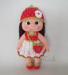 Ravelry: Strawberry Girl pattern by Havva Ünlü