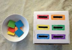 7 play concepts impressed by the Montessori technique! – Thousand Mom Ideas Montessori Toddler, Montessori Activities, Toddler Play, Color Activities, Toddler Learning, Infant Activities, Educational Activities, Preschool Activities, Maria Montessori