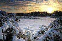 """Winter's Beauty, Quivet Creek"", photography by Anita Winstanley Roark"