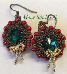 A personal favorite from my Etsy shop https://www.etsy.com/listing/481099626/bountiful-wreath-earrings