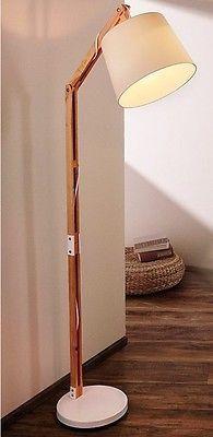 brillant ideen stehleuchte mit holzfuss am besten b ro st hle home dekoration tipps. Black Bedroom Furniture Sets. Home Design Ideas