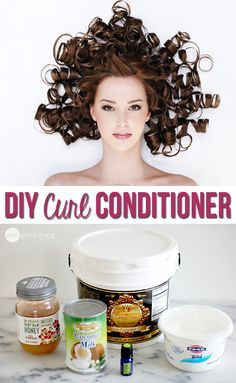 Moisturize and strengthen your hair for a fraction of the cost of commercial conditioners!