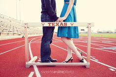 track and field engagment photos!