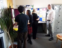 staff at a hospital in Margate supporting Time to Talk