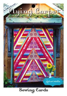 """""""Flying Carpet"""" pattern available at the Stitch' Post."""