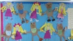 Goldilocks and the Three Bears adorable craft activity