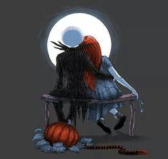 Jack & Sally by moonlight