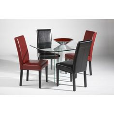 Contemporary 5 PC Dining Set by Chintaly Imports