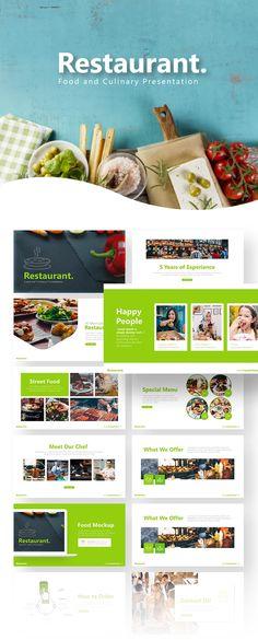 Restaurant Template - RRGraph Design