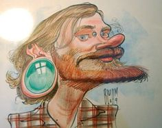 - JOE BLUHM -: Live Caricatures