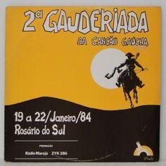 #2ª #Gauderiada da #canção #Gaúcha - #vinil #vinilrecords #temas