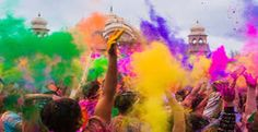 """Holi Sms in English Shayari Holi! It's Holi ! let's enjoy this Holi with unbound cheers! March 2018 is that desired day. Holi is known as the """"The festival of color"""" or """"The festival of love"""". Here you can find Holi Sms in English Shayari We Color Festival, Festival Holi, Holi Festival Of Colours, Spring Festival, Indian Color Festival, Holi Colors, Holi Party, Holi Wishes Messages, Happy Holi Wishes"""