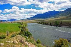Hard to find Yellowstone River frontage in the Gardiner area. This property gives great frontage for fishing. Located across the Yellowstone River from Yellowstone National Park assuring protected views.   TBD S Hwy 89, GARDINER, Montana, MLS#191410 | Prudential Montana Real Estate