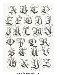 Tatto Ideas 2017 – lettering typographie calligraphie gothique majuscules… Tatto Ideas & Trends 2017 – DISCOVER lettering typography uppercase gothic calligraphy Discovred by: Constance Dvllr 2017 Lettering, Tattoo Lettering Styles, Chicano Lettering, Graffiti Lettering Fonts, Creative Lettering, Hand Lettering, Gothic Lettering, Fonts For Tattoos, 2017 Typography