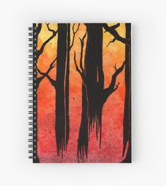 Buy 'Forest on Fire' by IdleEmma as a Graphic T-Shirt, Women's Chiffon Top, Contrast Tank, Graphic T-Shirt Dress, Sticker, iPhone Case/Skin, iPhone Wallet, Case/Skin for Samsung Galaxy, Poster, Throw Pillow, Floor Pillow, Tote Bag, Studio ...