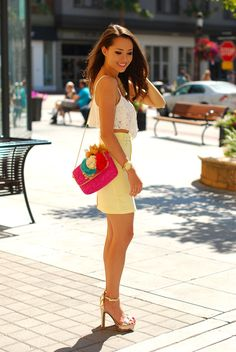 Hapa Time - Brights and Whites Jessica Ricks Sexy Hot Girls, Cute Girls, Sexy Outfits, Cute Outfits, Hapa Time, Jessica Ricks, Look Plus Size, Lingerie, Beautiful Legs