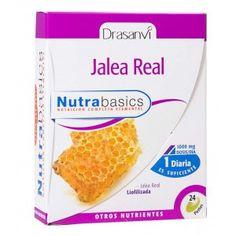 JALEA REAL NUTRABASICS - 24 PERLAS. 1220 MGS. DRASANVI
