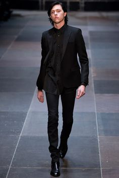 Saint Laurent Fall 2013 Menswear  My favorite collection of the season