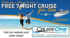 Win A FREE Cruise Vacation!! Contest going on now!