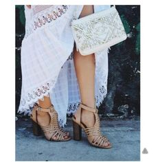 Steve Madden Sandrina Sandal Beautiful caged sandal. Goes perfectly with any outfit. Steve Madden Shoes