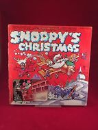 Snoopy's Christmas Record LP Vinyl 1973 Tinkerbell Records Kids Children