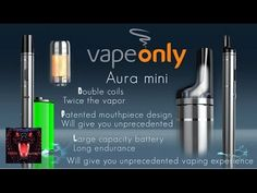 Aura Mini e-cig pen review for beginners by Vapeonly