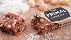 Primal Pantry produce a range of five bars designed to compliment a #paleo #diet.