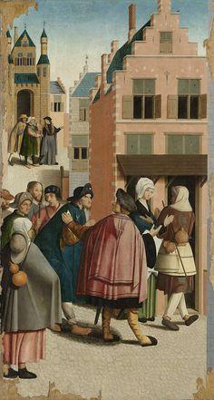 The Seven Works of Mercy, Master of Alkmaar, 1504