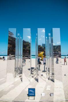 Kaleidoscope cube, by Alex Ritchie Sea Sculpture, Visual Aesthetics, Mirror Art, Museum Exhibition, Photography Projects, Architect Design, Public Art, Urban Art, Installation Art