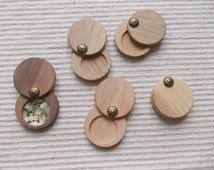 wooden lockets diy - Google Search
