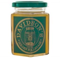 Davidson's Organic Golden Pollenaze. Contains potentiated bee pollen and used to treat arthritis and fatigue. $14.95 NZD