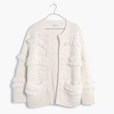 Madewell Desert Valley Fringe Cardigan Sweater