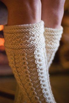 Ravelry: Hielan' Lassie Socks pattern by Melissa Morgan-Oakes