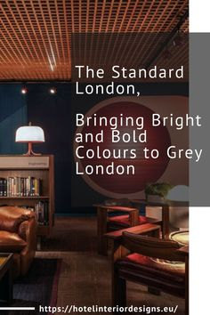 The Standard London is the first brand's hotel outside the United States – a hotel brand renowned for its unique take on interior design, style and service. Bold Colors, Colours, Hotel Branding, Hotels, Bring It On, United States, Europe, London, Interior Design