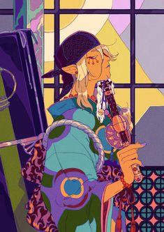 """Kusuriuri for sakurai zine 👹📿"" Anime Nerd, Anime Manga, Mononoke Anime, Artist Alley, Aesthetic Art, Cute Art, Art Inspo, Amazing Art, Art Reference"
