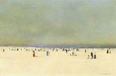 Sand, Sea and Sky: A Summer Fantasy John Atkinson Grimshaw - 1892