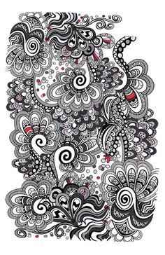 Decemberists doodle Art Print by Elissa Iatridis