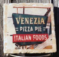 Venezia's Italian Restaurant Coaster New Orleans by TheCoasterMan, $8.00