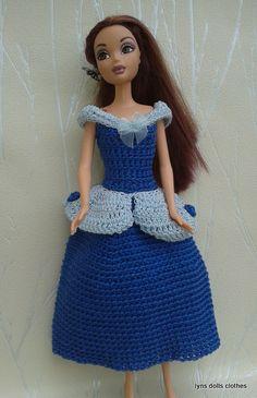 Inspired by Disney's Cinderella princess.   Easy crochet pattern on Ravelry