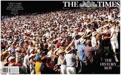 Le TIMES célèbre la victoire de Murray à Wimbledon