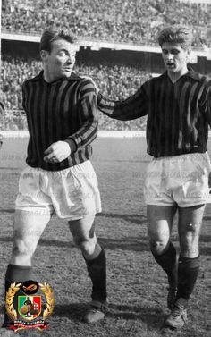 "Season 1961/1962, José João Altafini (AC Milan, 1958–1965, 205 apps, 120 goals) and Giovanni ""Gianni"" Rivera (AC Milan, 1960–1979, 501 apps, 122 goals)."