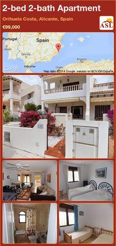 2-bed 2-bath Apartment in Orihuela Costa, Alicante, Spain ►€99,000 #PropertyForSaleInSpain