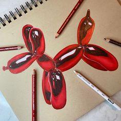 Balloon Animal Drawing