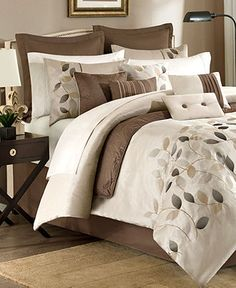 Serene 12 Piece Comforter Sets - Bed in a Bag - Bed & Bath - Macy's